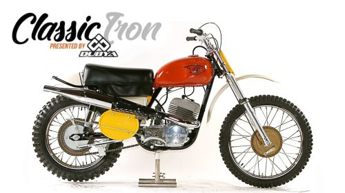 small resolution of classic motocross iron 1969 cz 360 type 969 side pipe motocross