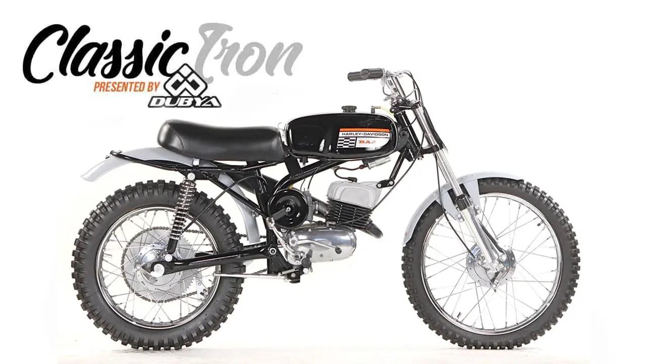 CLASSIC MOTOCROSS IRON: 1971 HARLEY-DAVIDSON BAJA 100