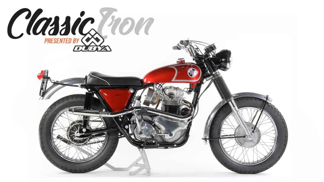 CLASSIC MOTOCROSS IRON: 1967 NORTON 750 P11 SCRAMBLER