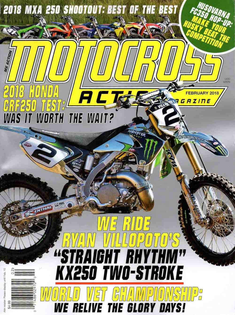 medium resolution of had you subscribed to mxa you would have read this complete bike test when in came out back in january click the box below to subscribe