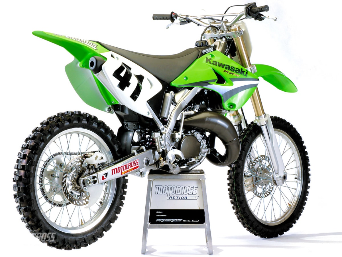 hight resolution of 2005 kawasaki kx125