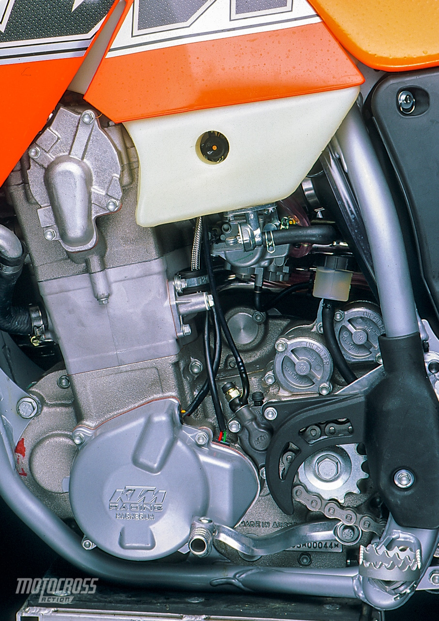 medium resolution of 2000 ktm 520sxf engine