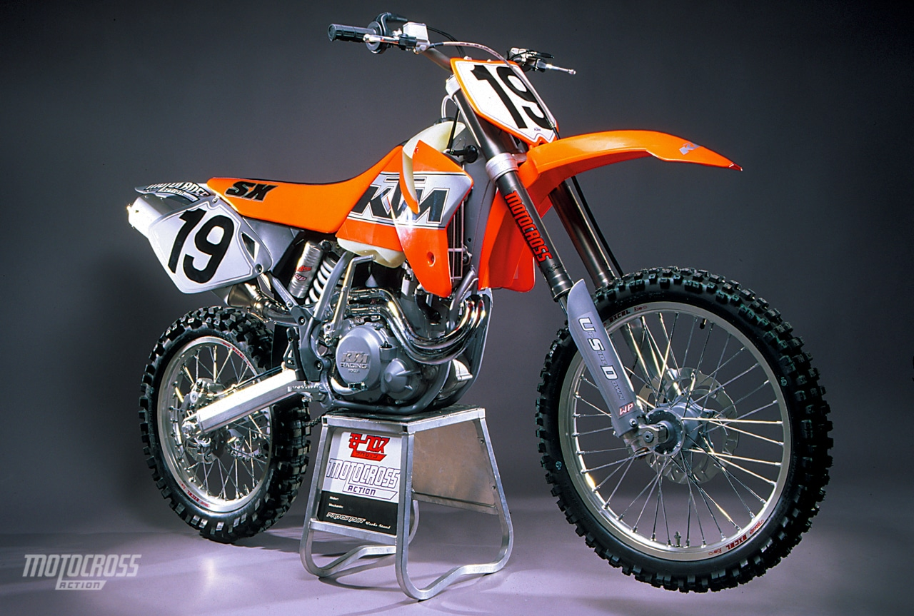 hight resolution of the 2000 ktm 520sx four stroke pre pro was tested in the december 1999 issue of mxa