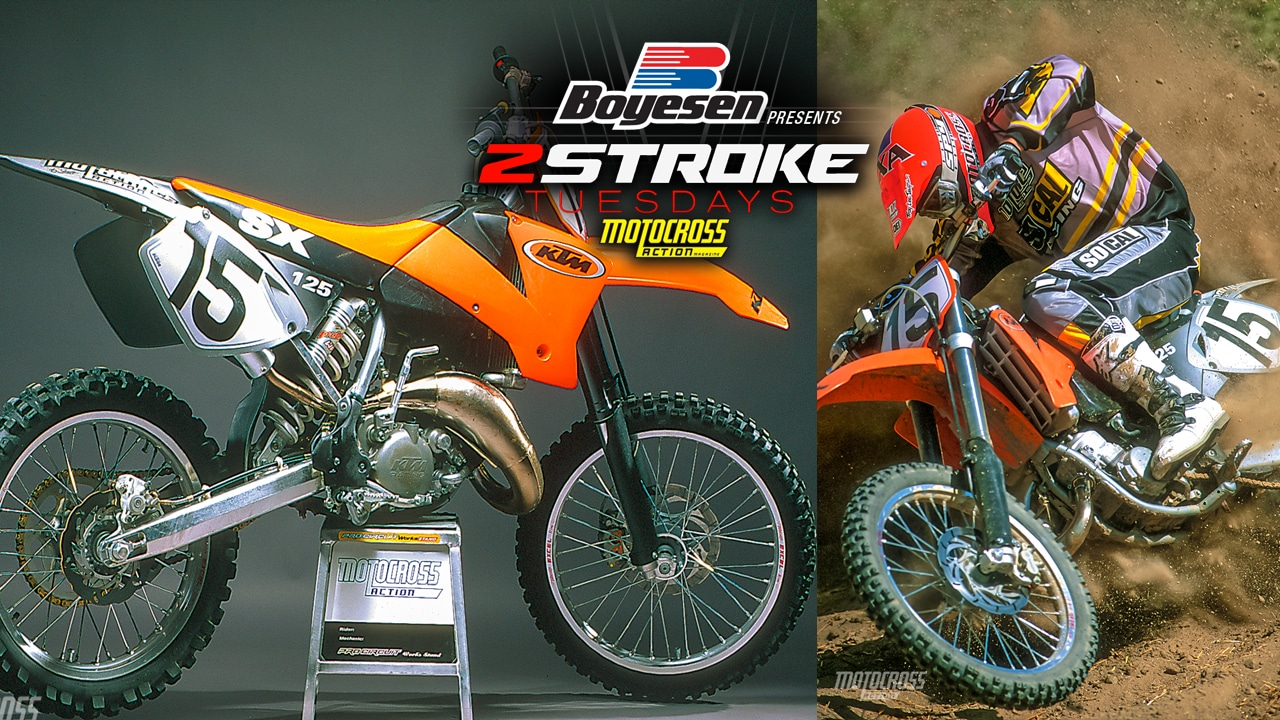 hight resolution of home motocross action mag two stroke tuesday 2001 ktm 125sx compete test