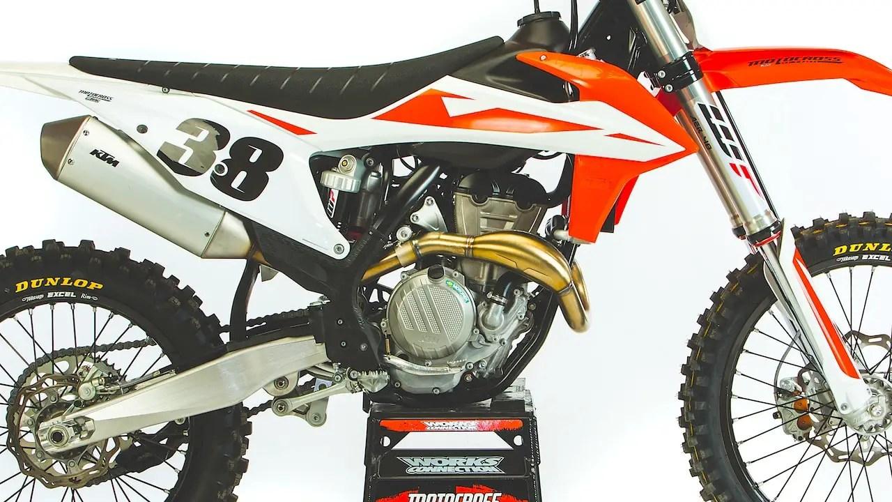 hight resolution of mxa race test the real test of the 2019 ktm 350sxf motocross action magazine