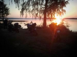 """Obóz na półwyspie """"Szeroki Ostrów"""""""