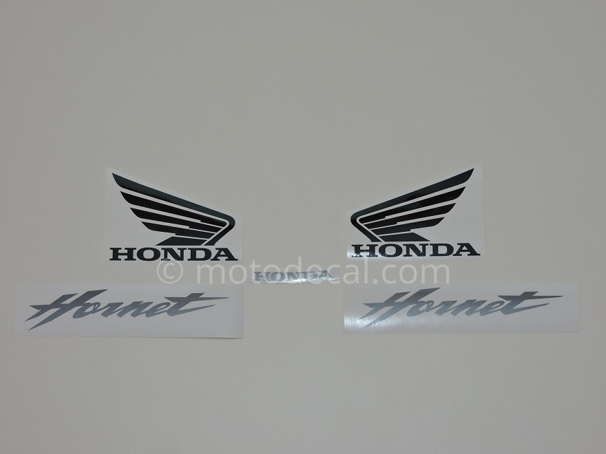 Honda CB 600F Hornet 2002-2004 Silver DECAL KIT by