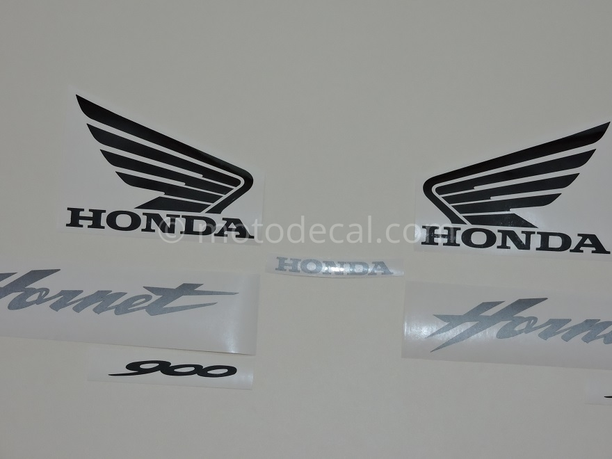Honda CB 900F Hornet 2002-2007 Silver DECAL KIT by