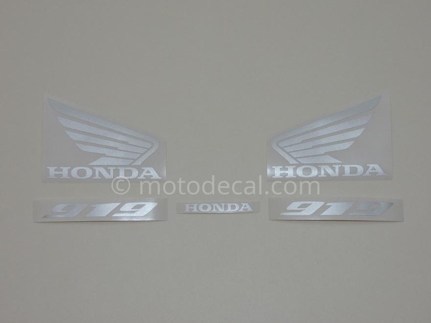 Honda CB 919F Hornet 2002-2007 Black DECAL KIT by