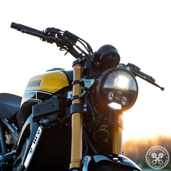 XSR900 Headlight Conversion Evo S
