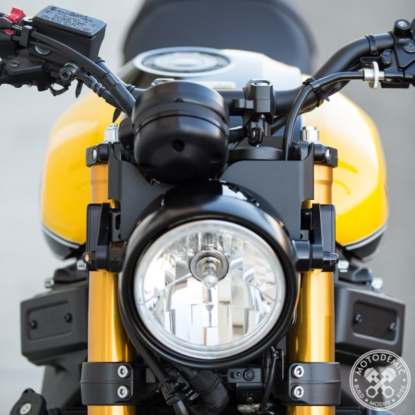 XSR900 Gauge Relocation Kit
