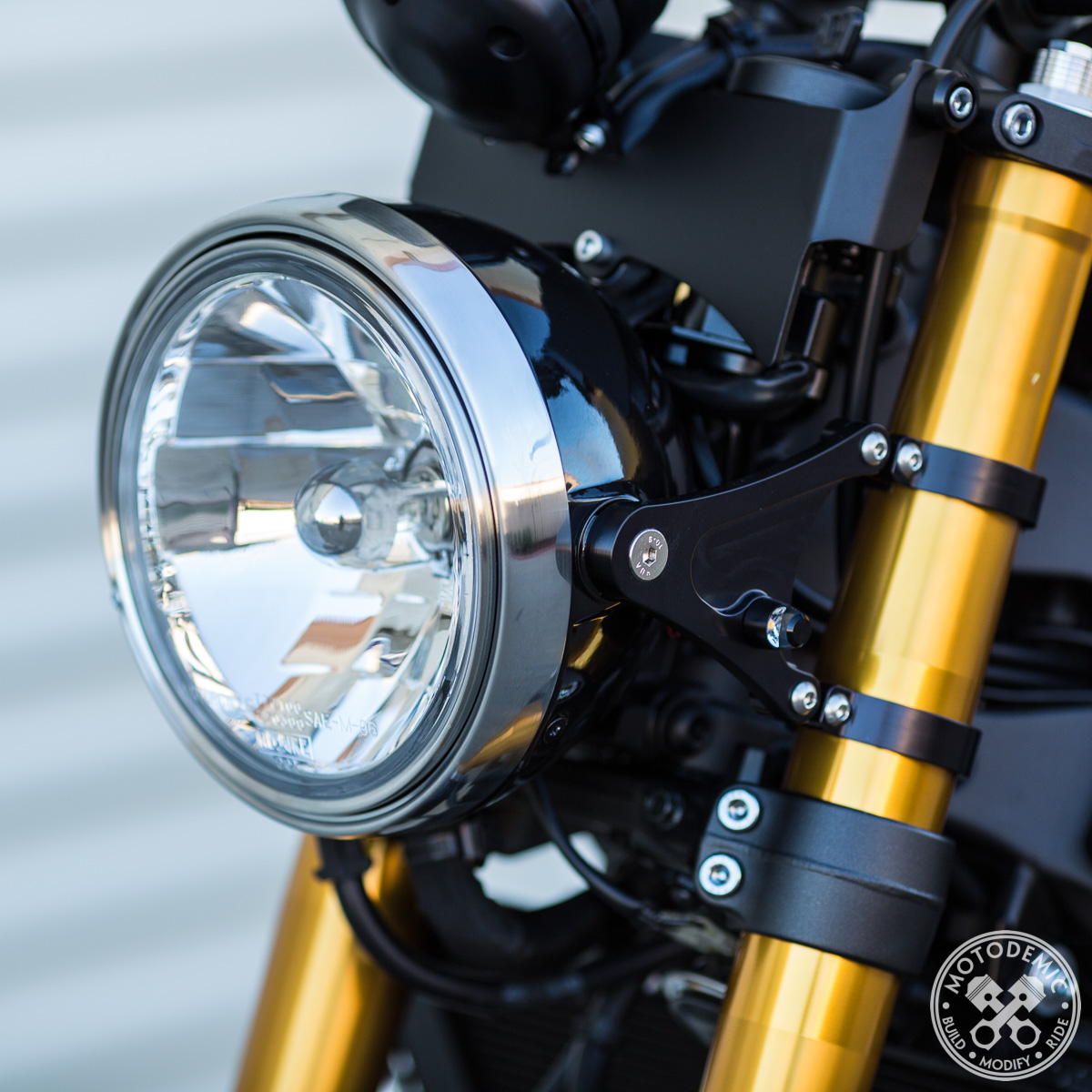 Xsr900 7 Inch Headlight Conversion  U2022 Motodemic