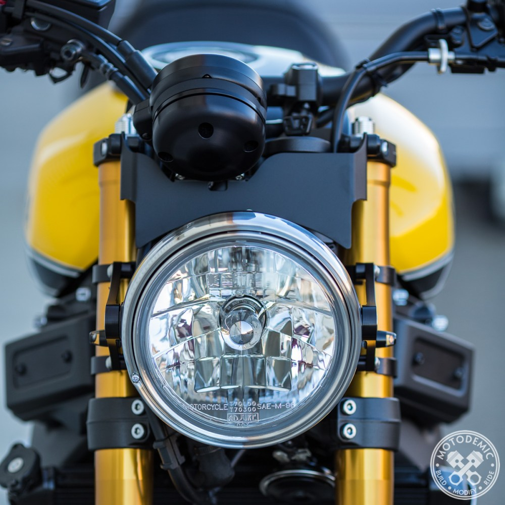 XSR900 7 Inch Headlight Conversion - Halogen