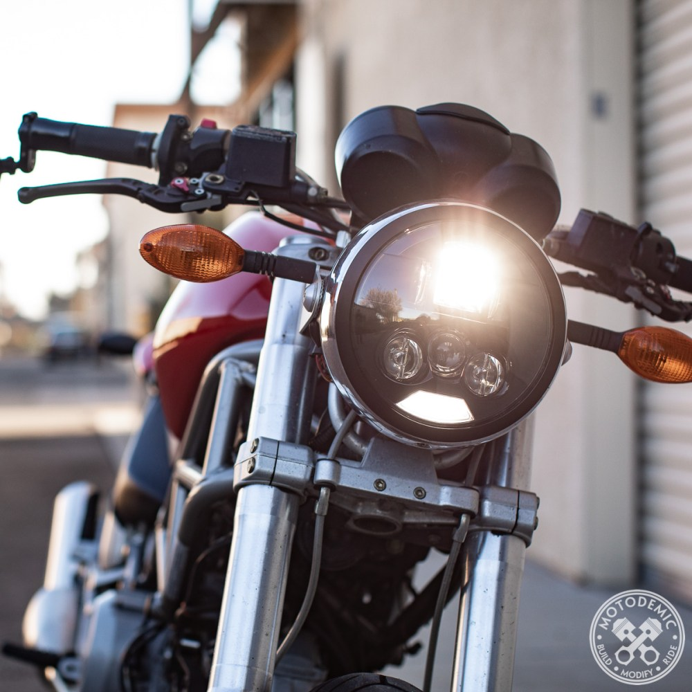 medium resolution of monster led headlight upgrade evo s