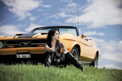 Znowu Ford Mustang