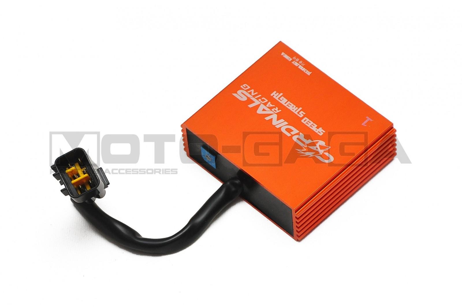 hight resolution of cardinals racing adjustable performance cdi suzuki raider 150r 6 wire