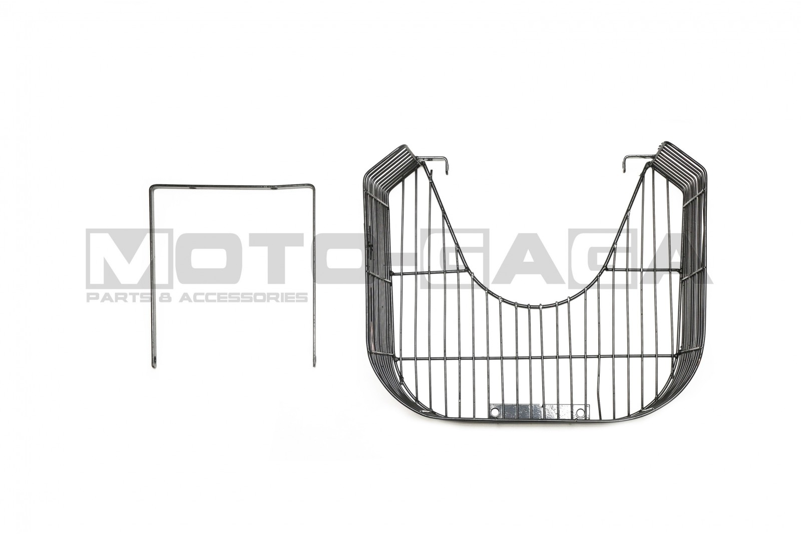 Honda Wave/Innova 125 Metal Leg Shield Luggage Basket