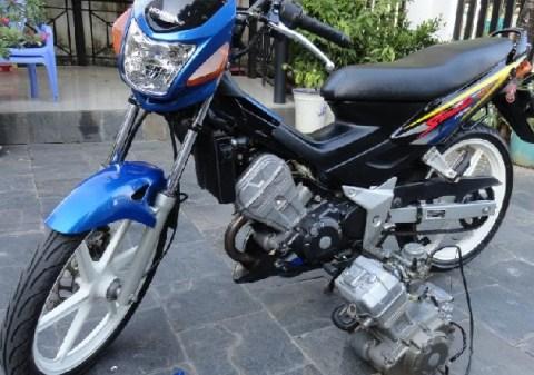 sonic-blue swapt engine cbr150 PnP