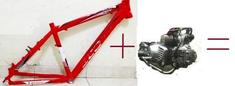 sasis sepeda n mesin c-series