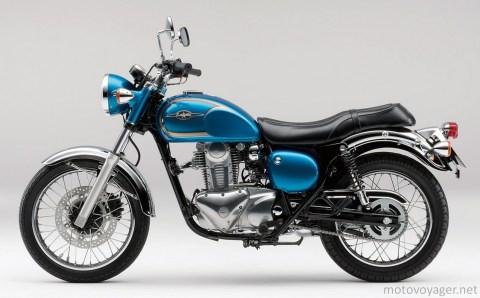 Kawasaki-Estrella-250-Blue