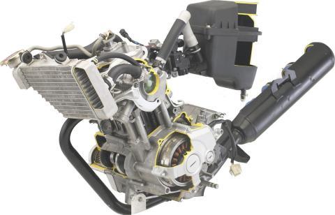 r15 vixion engine