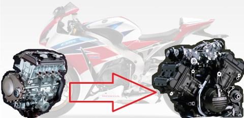 superbike honda crv1000 engine