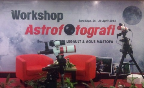 workshop astrofotografi