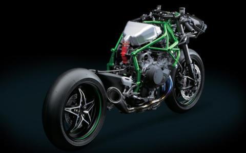 Kawasaki-Ninja-H2R-Frame