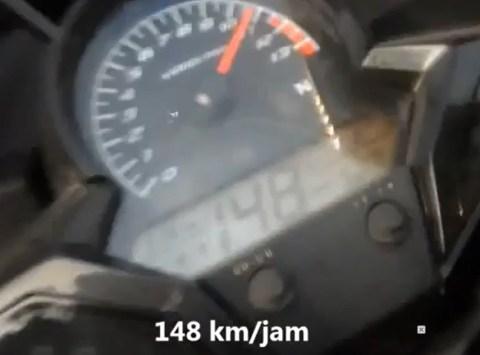 topspeed cbr150 148kpj