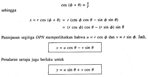 rotation equation origin2
