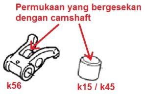 friction area
