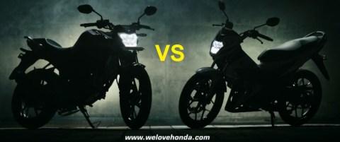 sonic150 vs newcb150r 1