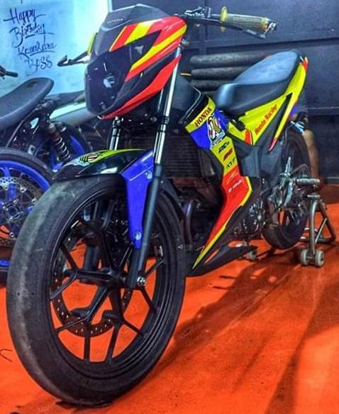 Honda-Sonic-150R IRRC Tasik Front