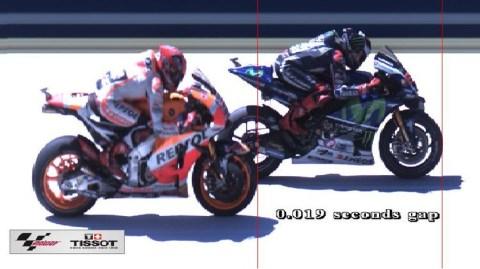 Lorenzo win Marquez lose 0.019s