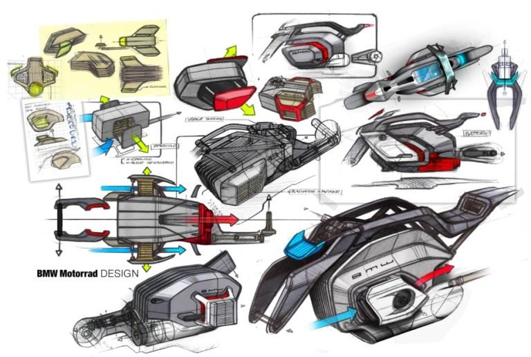 Sistem aerodinamis BMW vision DC roadster
