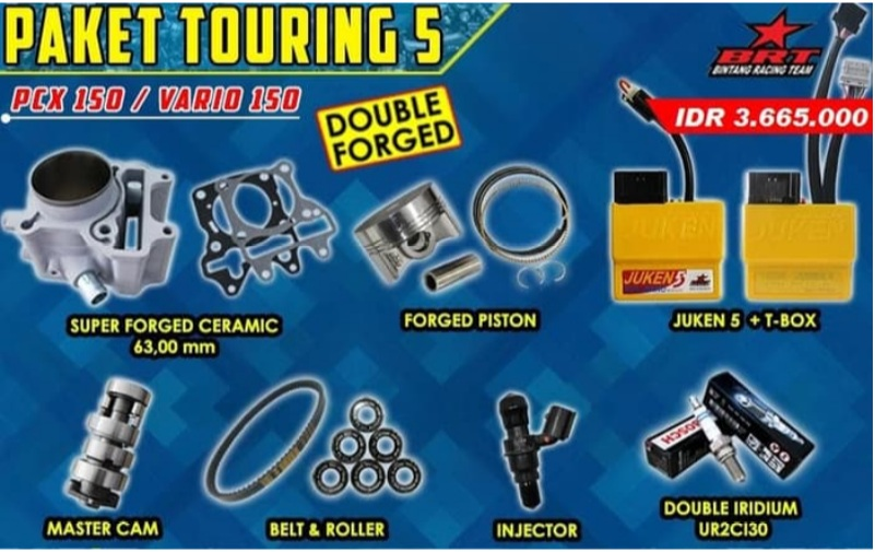 boreup-kit vario 150 brt paket touring