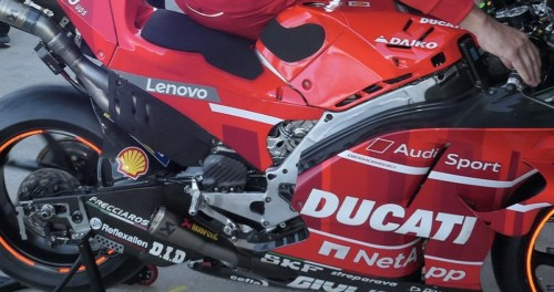 ducati gp20 chassis and swingarm2