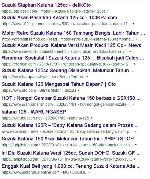 katana 125 news