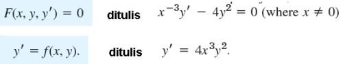 bentuk implisit dan eksplisit