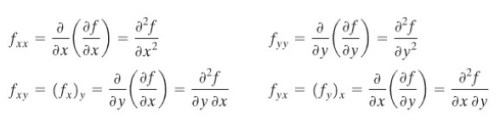 higher partial derivative