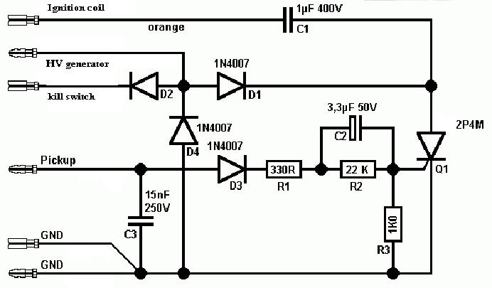 [ECU] Capacitive Discharge Ignition (CDI), Cikal-Bakal