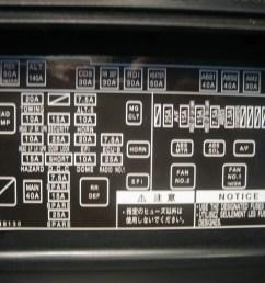 toyota corolla verso 2006 fuse box diagram [ 1024 x 768 Pixel ]