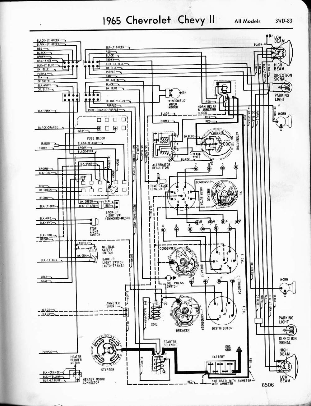 medium resolution of 1965 chevy truck wiring diagram