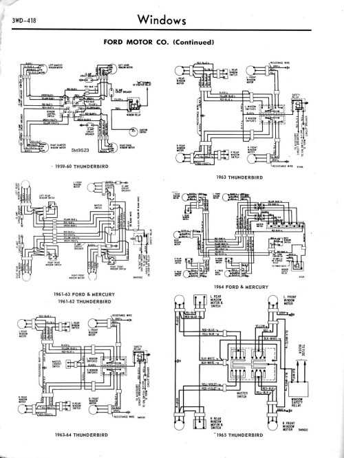small resolution of 1965 ford thunderbird wiring diagram