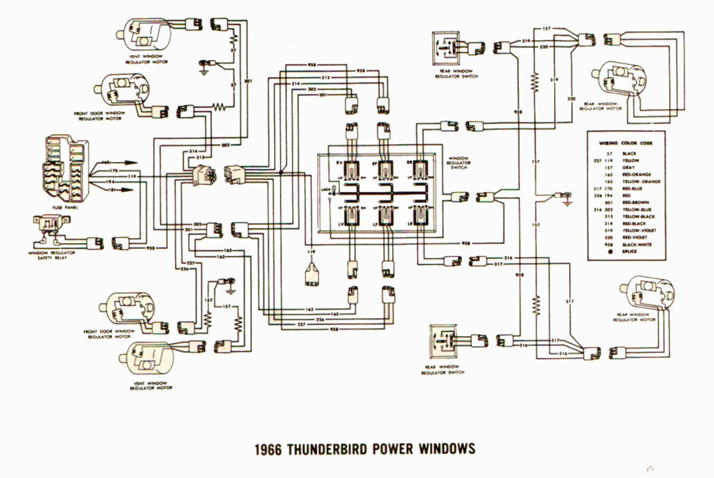 medium resolution of 97 ford thunderbird wiring diagram wiring diagram for you 1997 ford thunderbird wiring diagram
