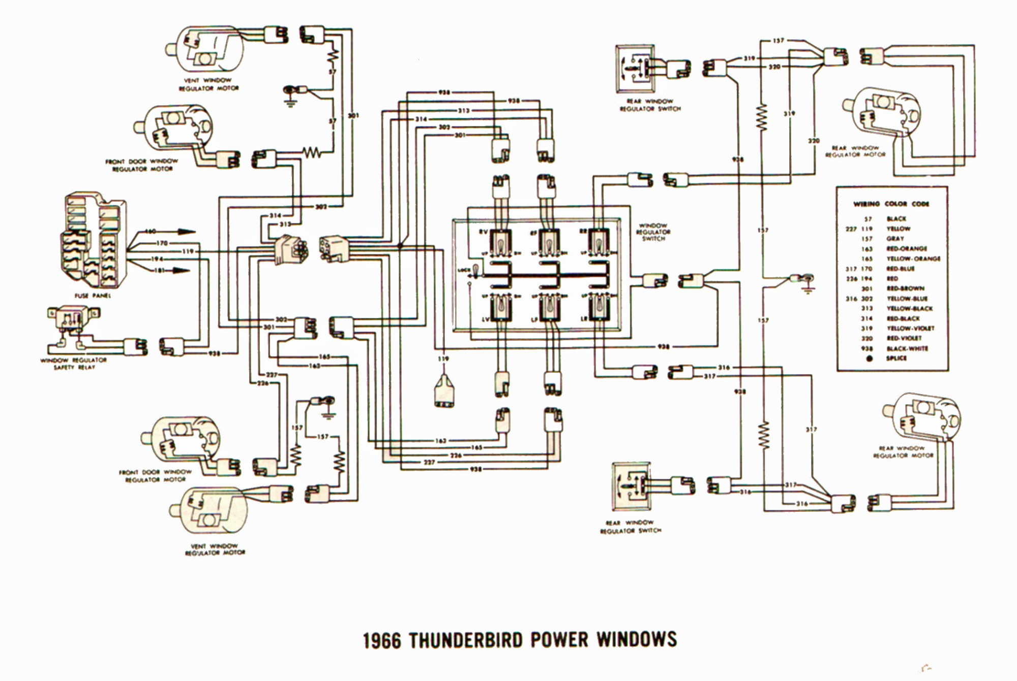 hight resolution of 97 ford thunderbird wiring diagram wiring diagram for you 1997 ford thunderbird wiring diagram