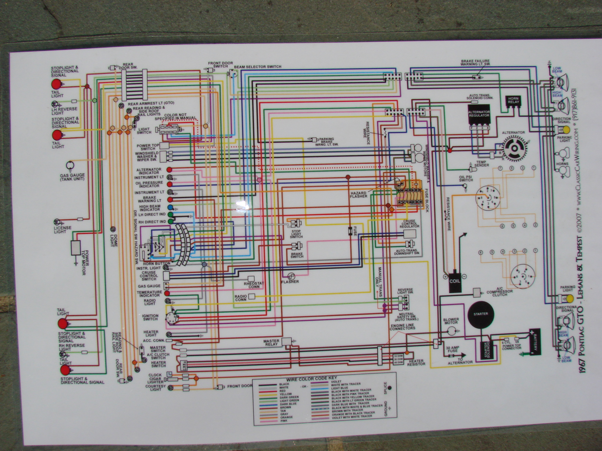 Pontiac Gto Ignition Switch Wiring Diagram Get Free Image About