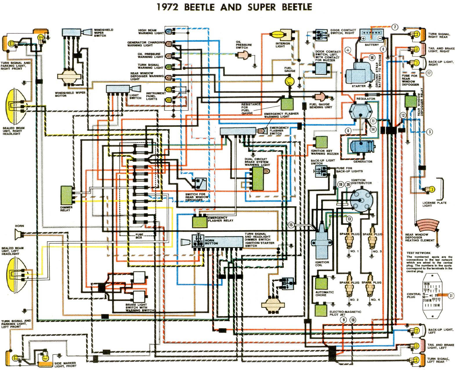 vw beetle wiring diagram 1966 0 10v dimming 72 harness all data hub 1972 bug