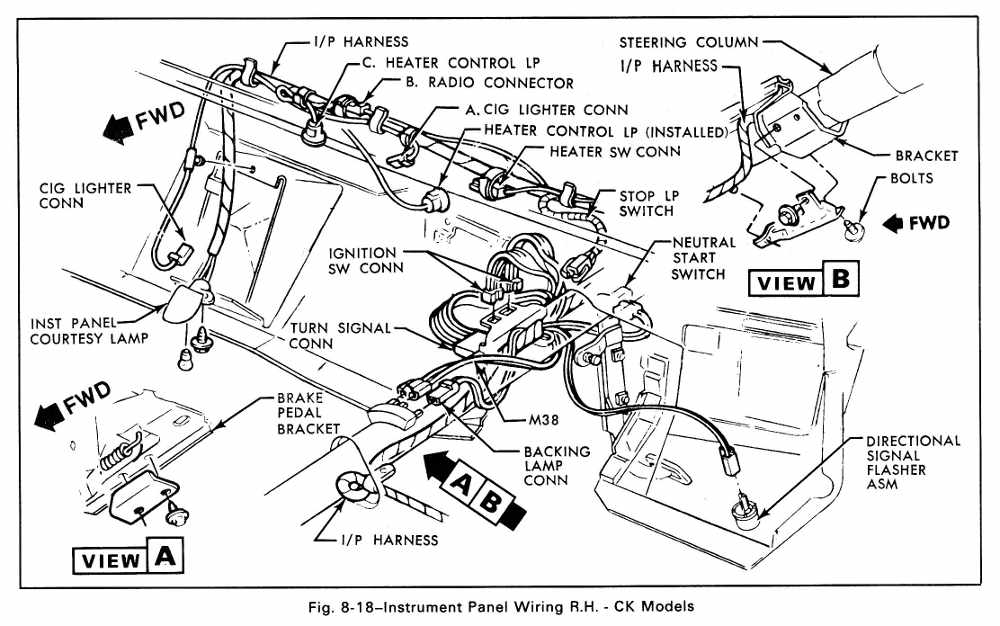 1979 Chevy Truck Fuse Box Diagram