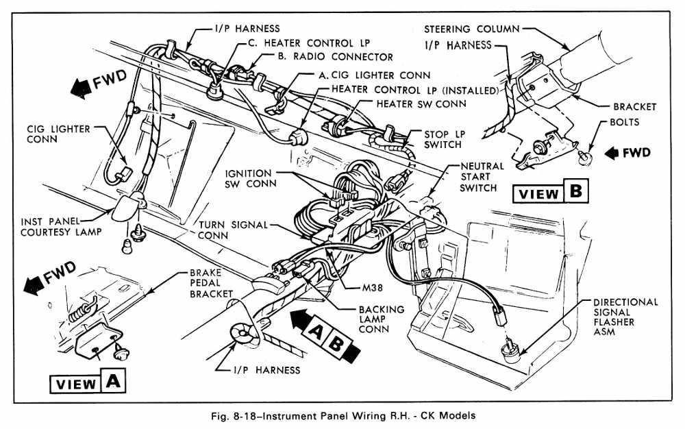 1979 corvette dash wiring diagram fetal pig nervous system 78 chevy truck 79 model manual e books1979 nova schematic diagram79